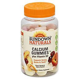 Sundown Naturals® 50-Count Calcium Plus Vitamin D3 Gummies