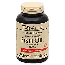 Harmon® Face Values® 100-Count 1200 mg Fish Oil Concentrate Tablets