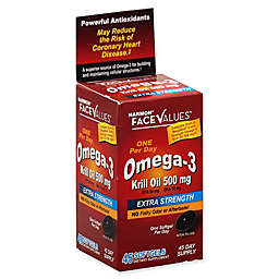 Harmon® Face Values® 45-Count 500 mg  Extra Strength Omega-3 Krill Oil Softgels