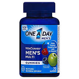 One A Day® VitaCraves® 70-Count Men's Multivitamin Gummies in Fruit