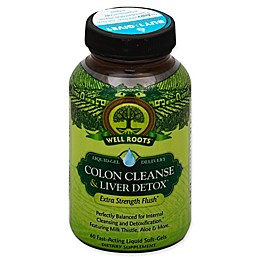 Well Roots® 60-Count Colon Cleanse and Liver Detox Soft-Gels