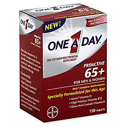 One A Day® 150-Count Proactive 65+ Multivitamin/Multimineral Supplement for Men & Women