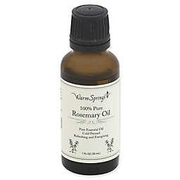 Warm Springs 1 fl. oz. 100% Pure Rosemary Oil