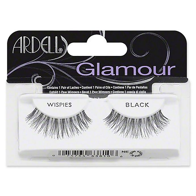 3f8f553d948 Ardell® 1 pair Glamour Wispies Lashes in Black | Bed Bath & Beyond