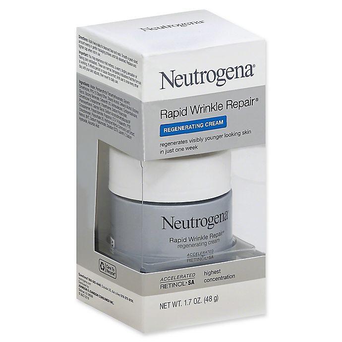 Alternate image 1 for Neutrogena® 1.7 oz. Rapid Wrinkle Repair Face Cream