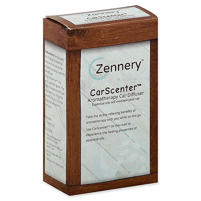 Alternate image 1 for Zennery™ CarScenter™ Aromatherapy Car Diffuser and Refills