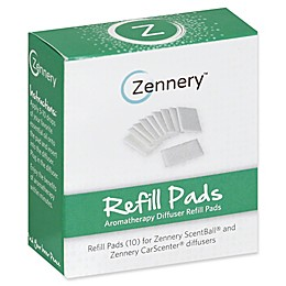 Zennery® Carscenter 10-Count Aromatherapy Refill Pads