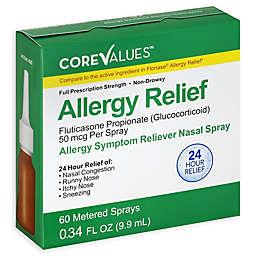 Core Values™ .Fluticasone 24-Hour Relief Allergy Symptom Reliever Nasal Spray