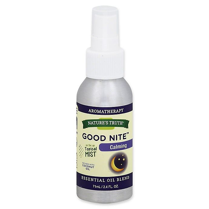 Alternate image 1 for Nature's Truth® Good Nite™ 2.4 fl. oz. Calming Essential Oil Blend