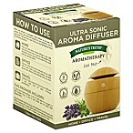 Nature's Truth® Ultra Sonic Aromatherapy Wood Aroma Diffuser