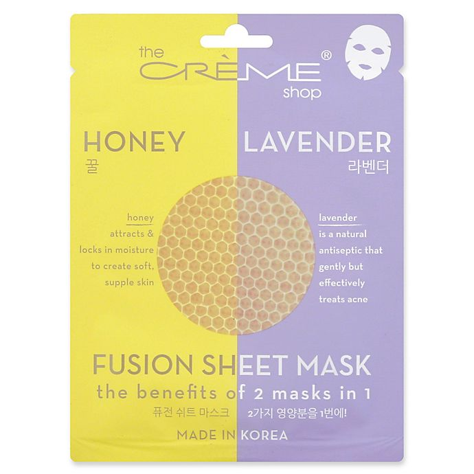 Alternate image 1 for The Crème Shop® 2-in-1 Fusion Mask in Honey Lavender