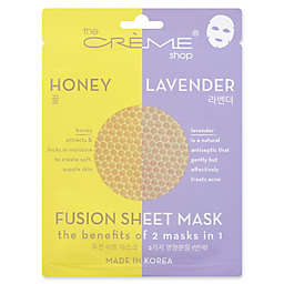 The Crème Shop® 2-in-1 Fusion Mask in Honey Lavender