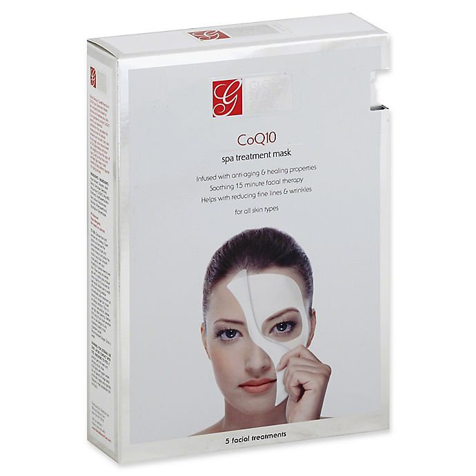 Alternate image 1 for Global Beauty Care Collagen™ 5-Count Spa Anti Aging Treatment Mask