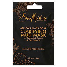 SheaMoisture® .5 oz. African Black Soap Clarifying Mud Mask Packet