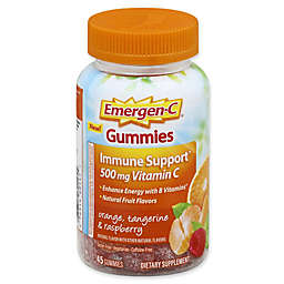 Emergen-C® 45-Count Immune Support Gummies in Orange, Tangerine & Raspberry