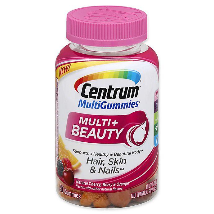 Alternate image 1 for Centrum® MultiGummies® 90-Count Multi + Beauty Hair, Skin & Nails Gummies