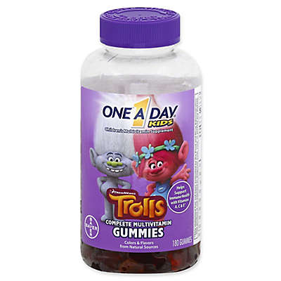 One A Day® Kids 180-Count Complete Multivitamin Trolls Gummies