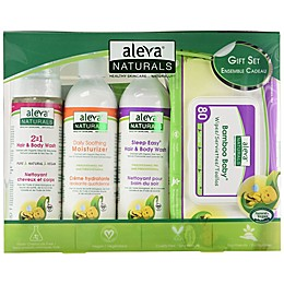 Aleva® Naturals 4-Piece New Born Gift Set