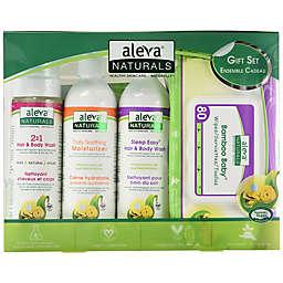 Aleva® Naturals 4-Piece New Born Gift Set