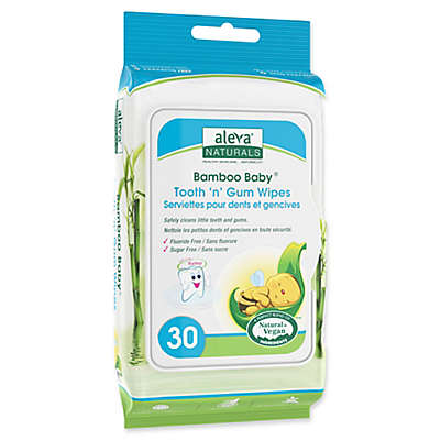 Aleva® Naturals Bamboo Baby® 30-Count Tooth 'n' Gum Wipes