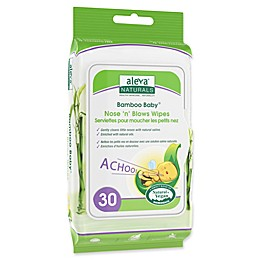 Aleva® Naturals Bamboo Baby® 30-Count Nose 'n' Blows Wipes