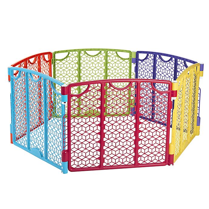 Alternate image 1 for Evenflo® Versatile Multicolor Play Space