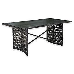 Zuo® Modern Santa Cruz Outdoor Dining Table in Terra Brown