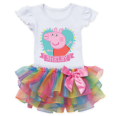 Peppa Pig™ Heart Rainbow Tutu T-Shirt