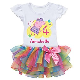 Peppa Pig™ Birthday Fairy Rainbow Tutu T-Shirt