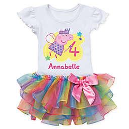 Peppa Pig™ Birthday Fairy Rainbow Tutu T-Shirt