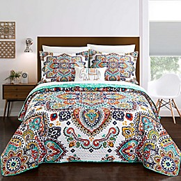 Chic Home Max 6-Piece Reversible Twin Quilt Set