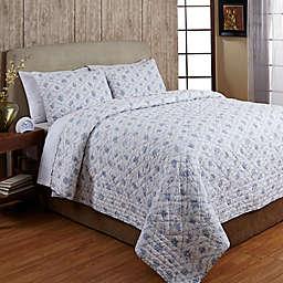 Amity Home Floral Boutique Patchwork Quilt Set