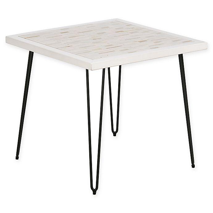 Alternate image 1 for INK+IVY® Woodbrick End Table