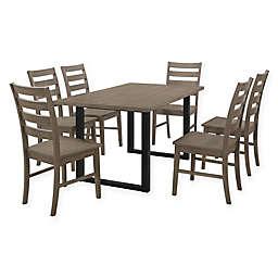 Forest Gate 7-Piece Hunstville Contemporary Wood Dining Set