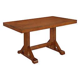 "Forest Gate 60"" Wheatridge Farmhouse Wood Dining Table"