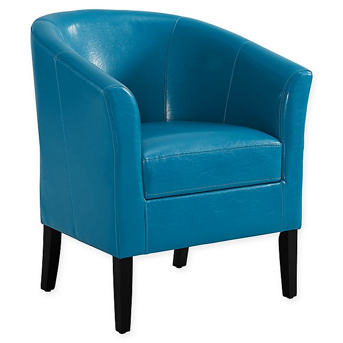 Alternate image 1 for Linon Home Sadie Club Chair in Dark Blue