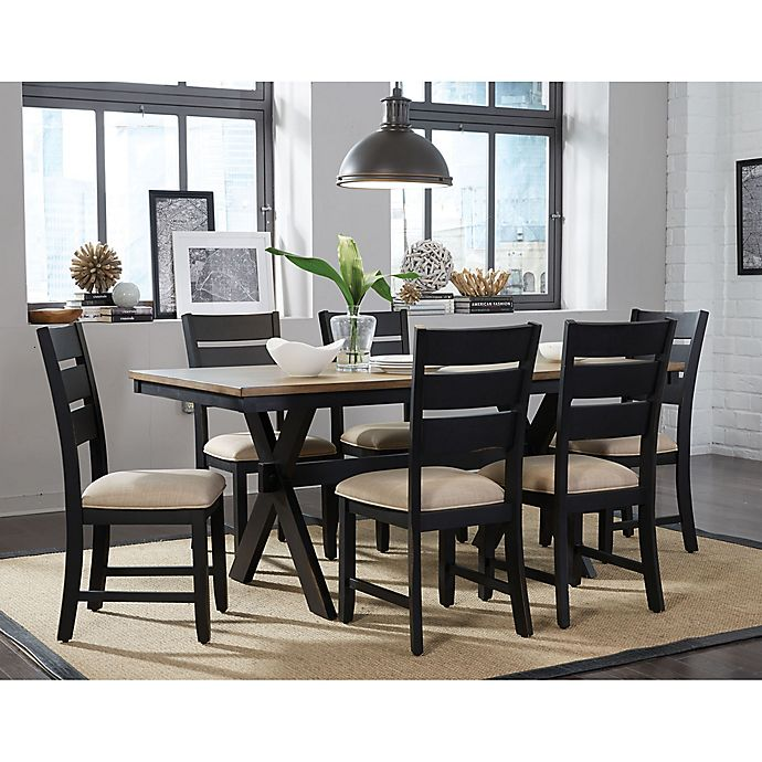 Standard Dining Room Table Size: Standard Furniture Braydon 7-Piece Table And Chair Set In