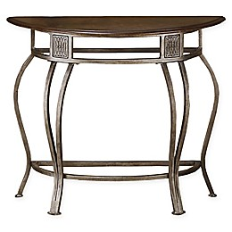 Hillsdale Furniture Montello Console Table in Steel