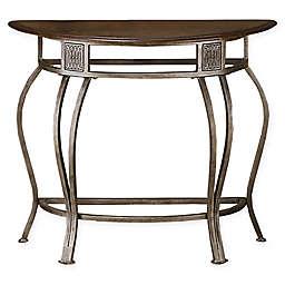 Hillsdale Furniture Montello Console Table in Steel