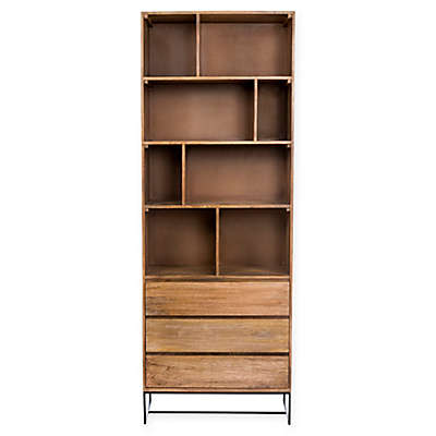 Moe's Home Collection Colvin Bookcase in Natural