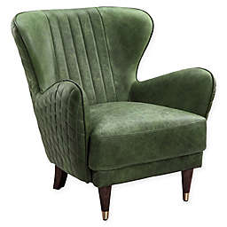 Moe's Home Collection Keaton Arm Chair in Emerald