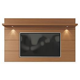 Manhattan Comfort Cabrini 2.2 Floating Wall TV Panel in Maple Cream