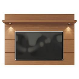Manhattan Comfort Cabrini 1.8 Floating Wall TV Panel in Maple Cream