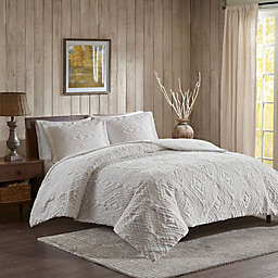 Woolrich® Teton Plush 3-Piece Coverlet Set