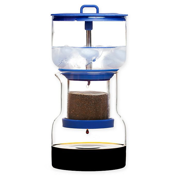 Alternate image 1 for Bruer Slow Drip Cold Brew Coffee Maker in Blue