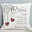 Part of the You're All I Need Throw Pillow