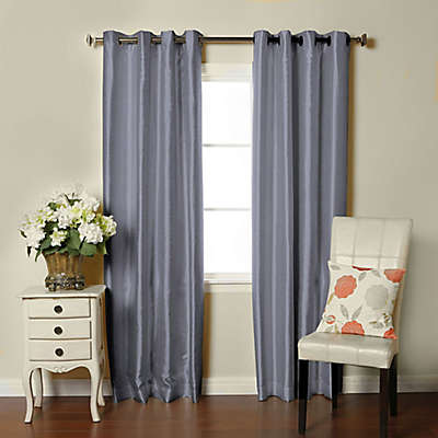 Brielle Fortune Grommet Top Room Darkening Window Curtain Panel