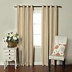 Brielle Fortune 95-Inch Grommet Top Room Darkening Window Curtain Panel in Natural