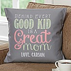 Loving Words To Her 18-Inch Square Throw Pillow