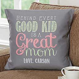 Loving Words To Her 18-Inch Square Throw Pillow 4f35ffcd7aa6